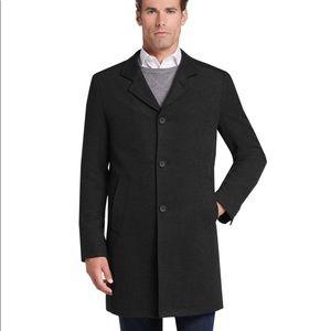 JOSEPH A BANK Custom Tailored Wool Overcoat